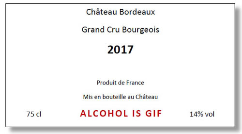 Alcohol is Gif
